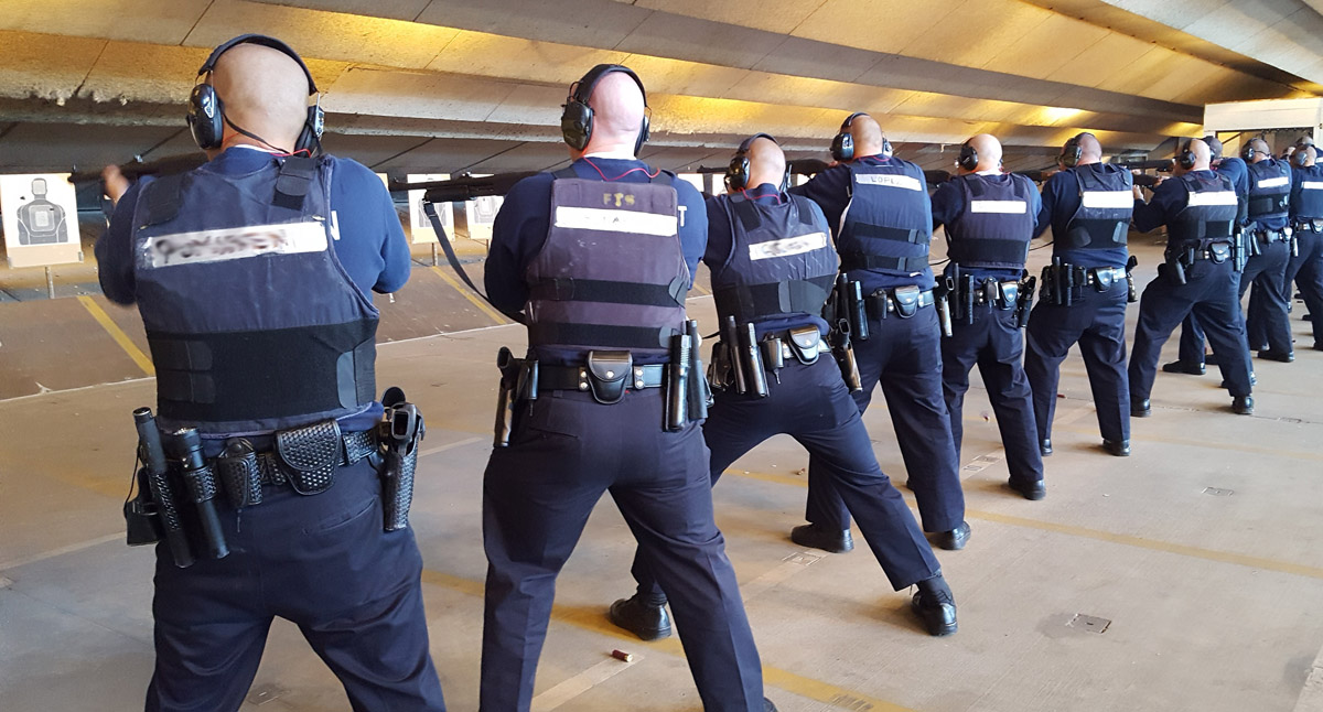 Pre-Police Academy Firearms Training – TAC-1: Tactical